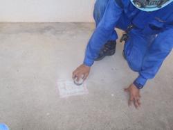 測定面の平滑化・付着物の除去